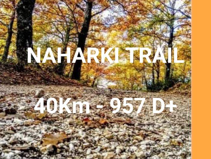NAHARKI TRAIL- sui tracciati dei monti Sabini-        40 Km / 957 D+